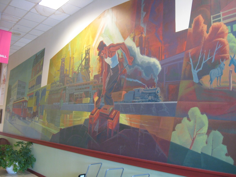 Westgate Mall Mural